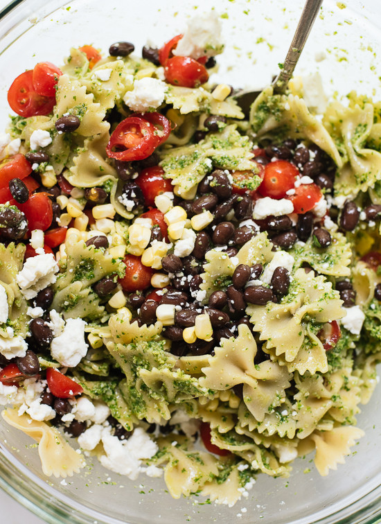 Summertime Pasta Salad  Summertime Pasta Salad Recipe Cookie and Kate