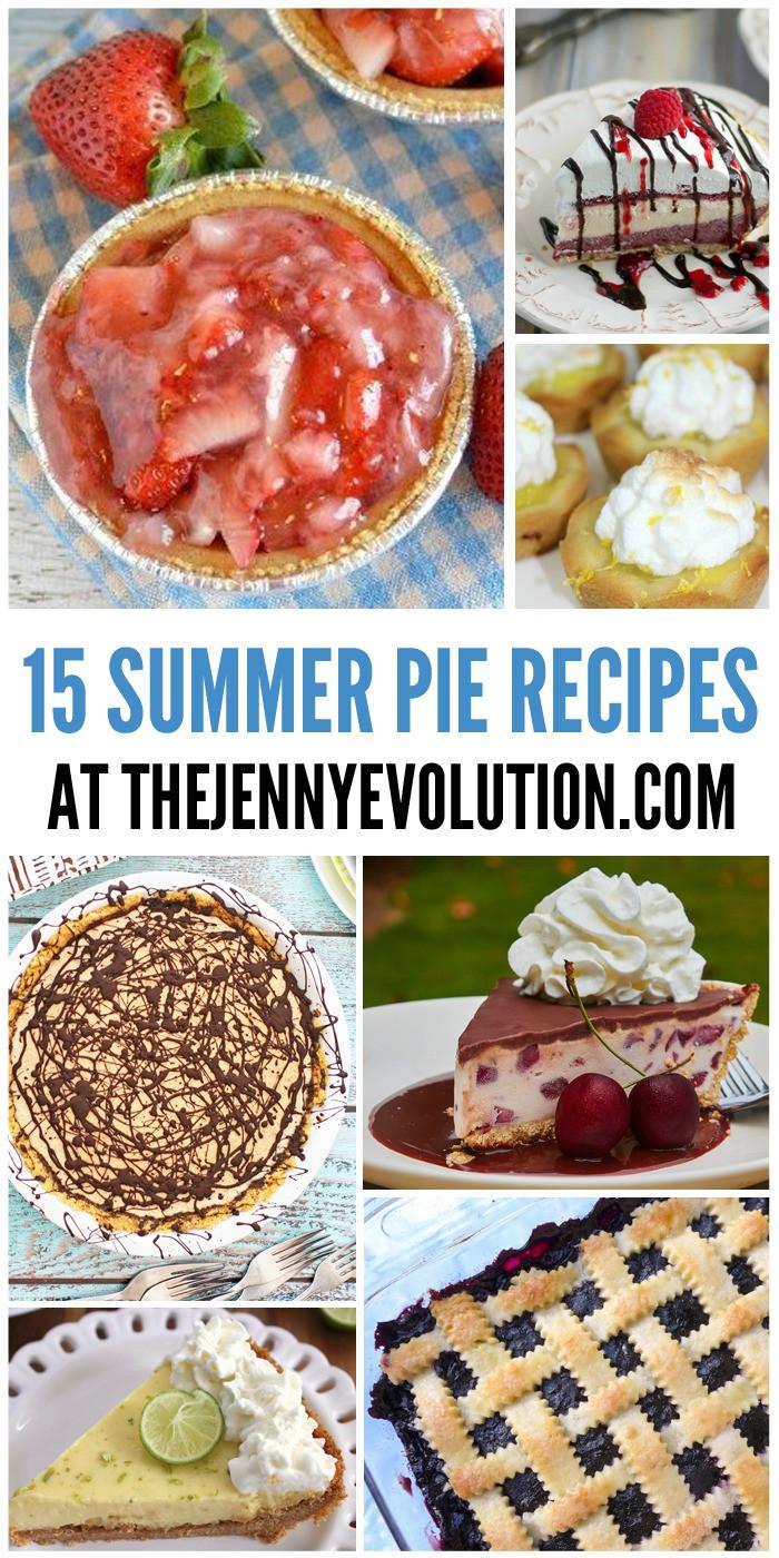 Summertime Pie Recipes  Summer Pie Recipes
