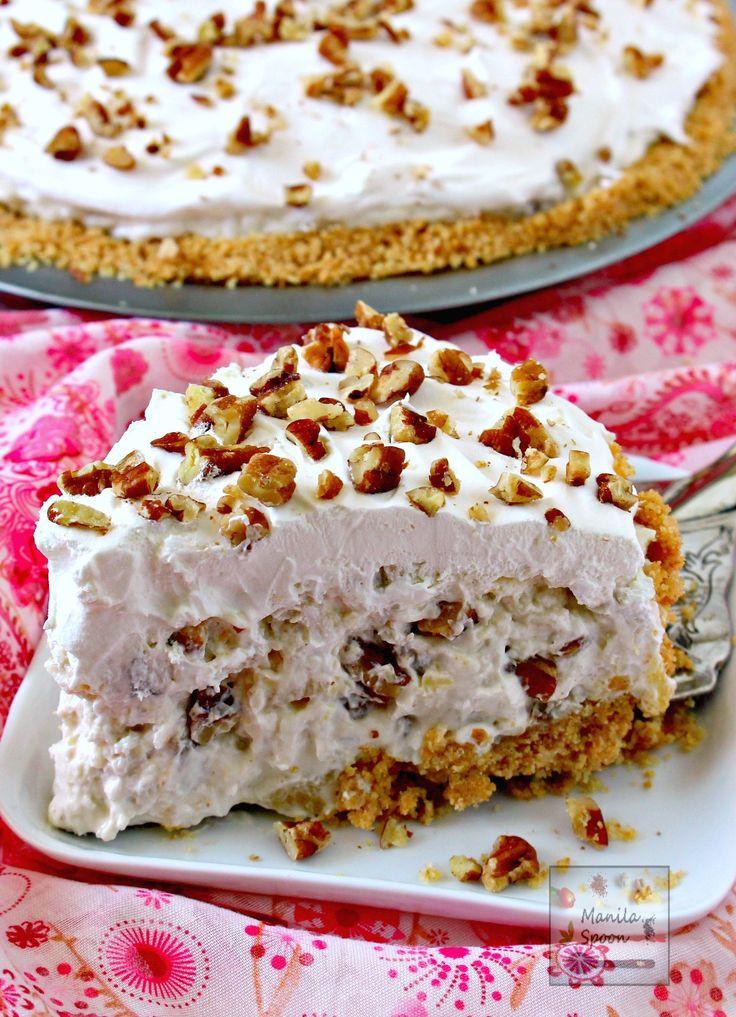 Summertime Pie Recipes  Millionaire Pie Recipe