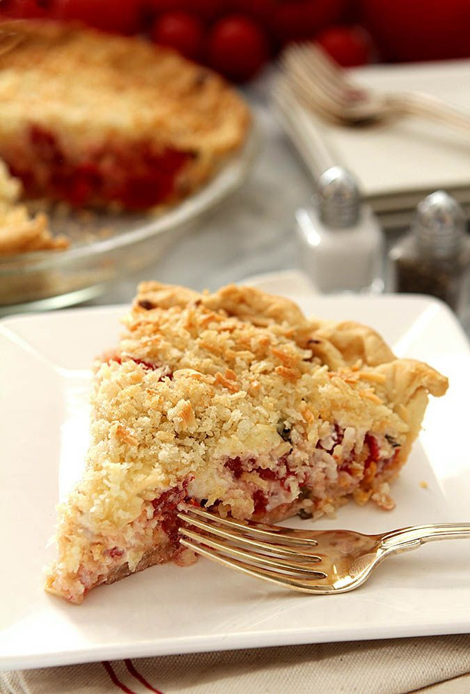Summertime Pie Recipes  37 best images about Tomatoes on Pinterest