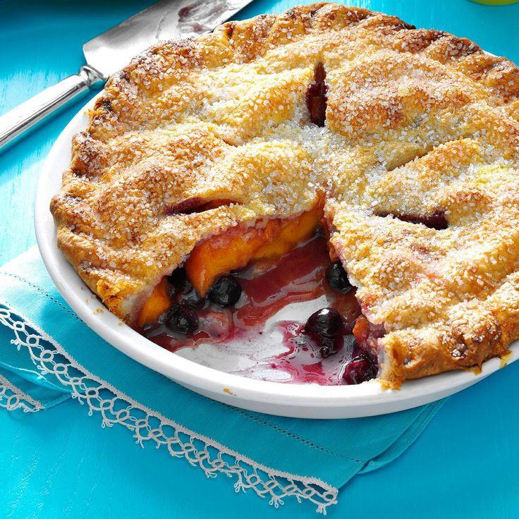 Summertime Pie Recipes  Best 25 Peach blueberry pie ideas on Pinterest