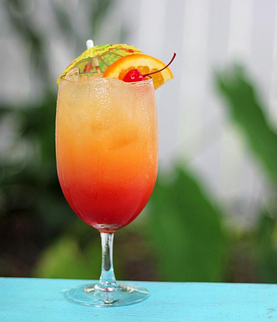 Summertime Rum Drinks  Malibu Summer Rose Cocktail