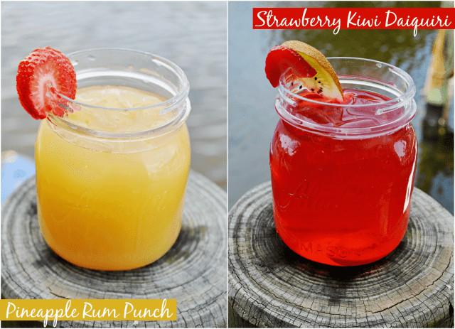 Summertime Rum Drinks  Strawberry Kiwi Daiquiri Recipe