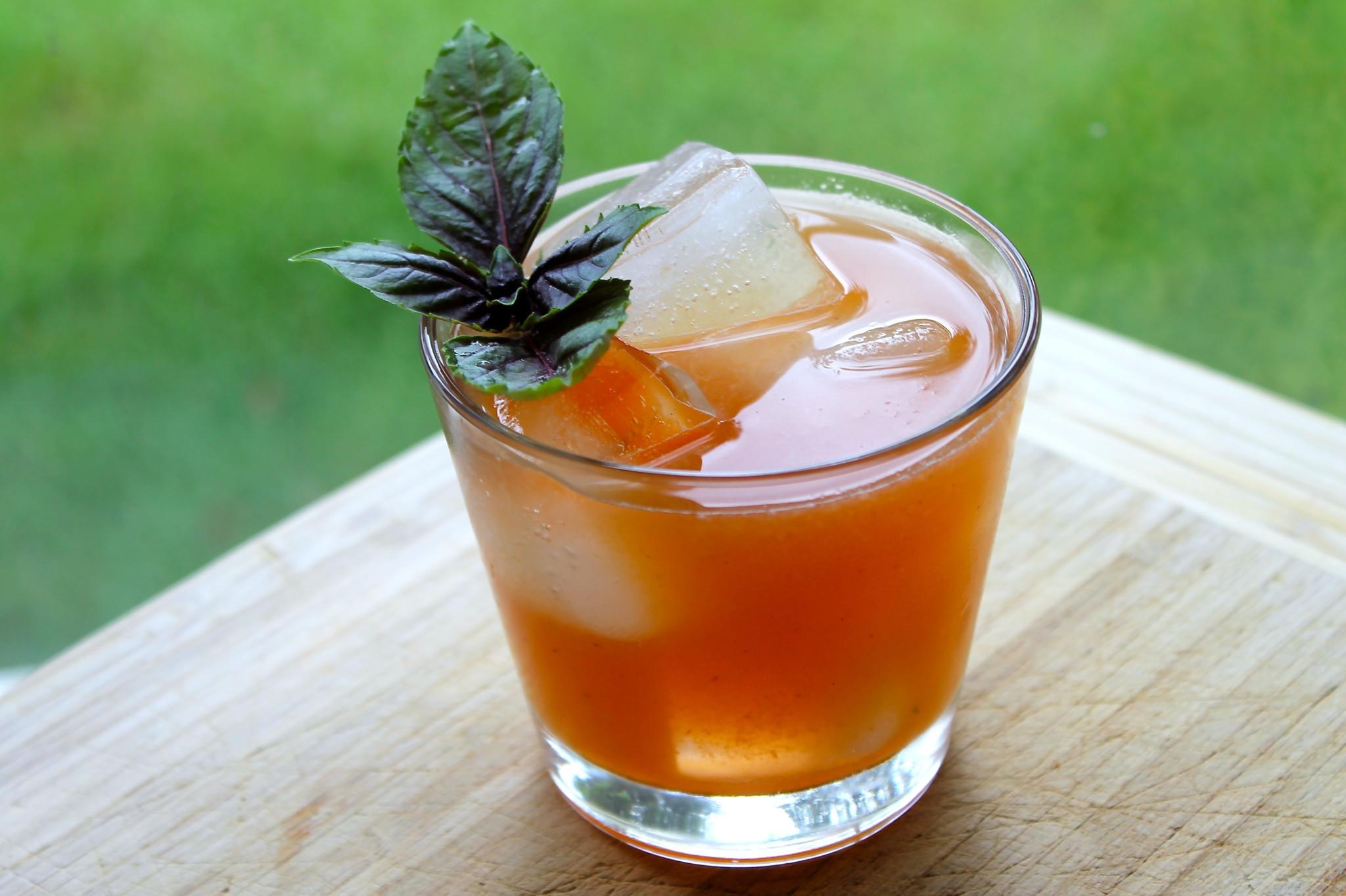 Summertime Rum Drinks  Georgia Summer A Rum Cocktail SAVOIR FAIRE by enrilemoine