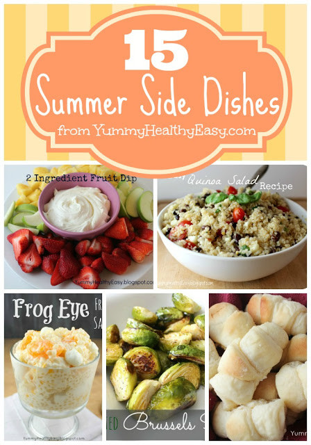 Summertime Side Dishes  15 Summer Side Dishes Classy Clutter