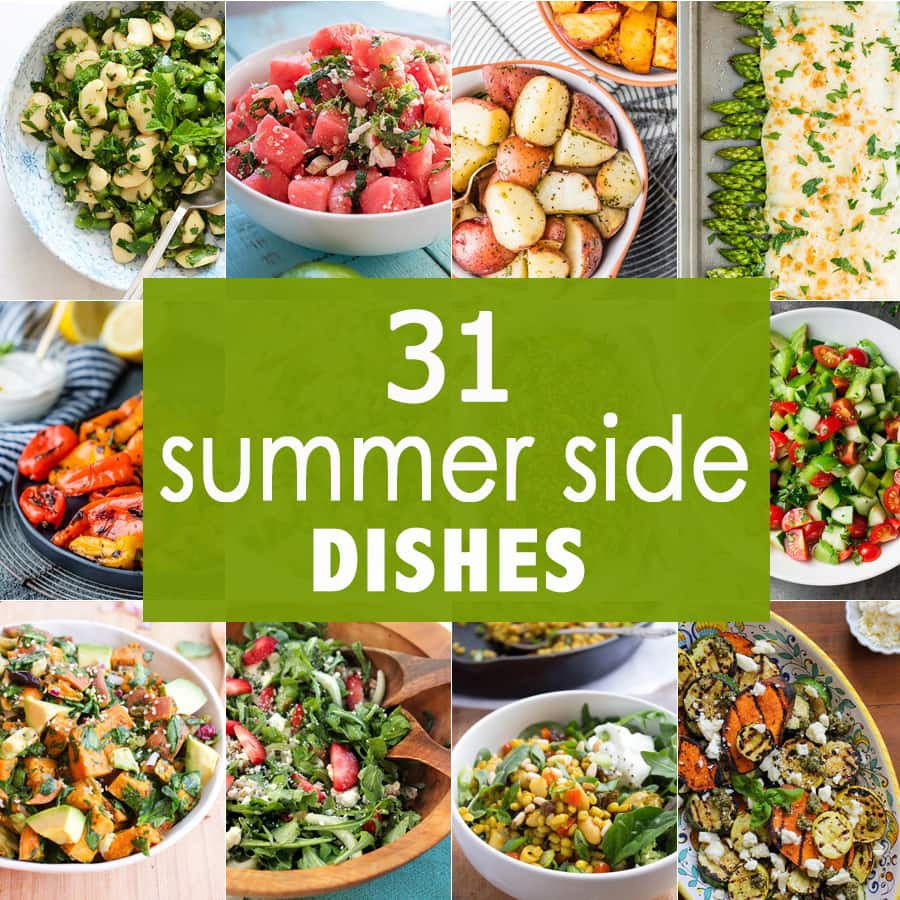Summertime Side Dishes  Summer Barbecue Salads
