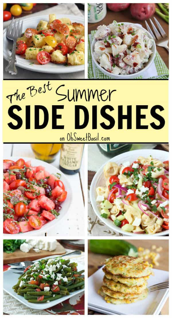 Summertime Side Dishes  Summer Side Dish Recipes Oh Sweet Basil