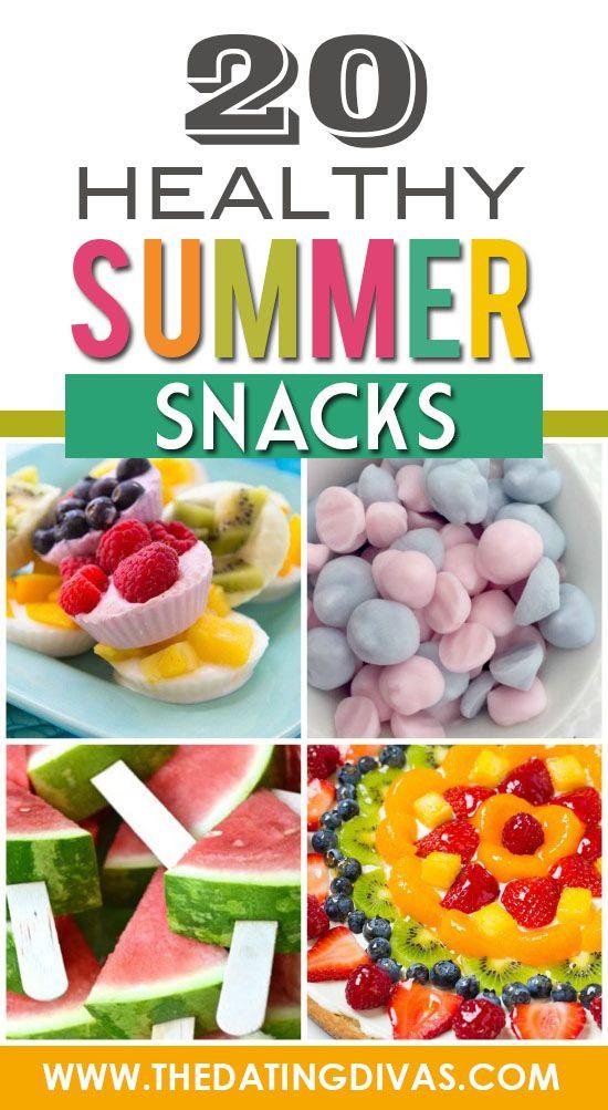 Summertime Snacks Recipe  25 best ideas about Healthy Summer Snacks on Pinterest
