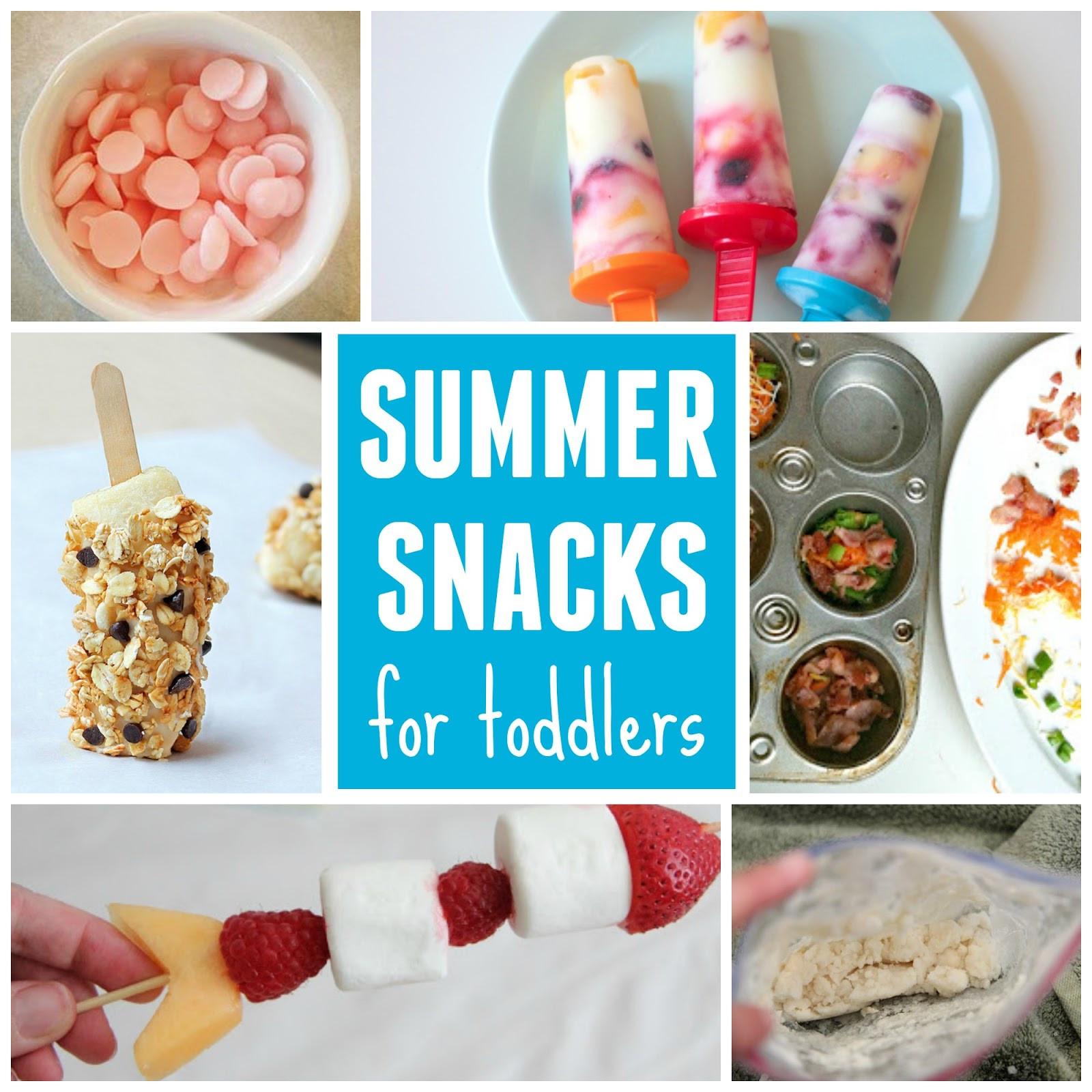 Summertime Snacks Recipe  Toddler Approved 10 Summer Snacks for Toddlers