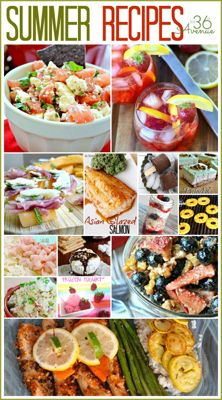 Summertime Snacks Recipe  17 Best images about Potluck Cookout and Party Ideas on