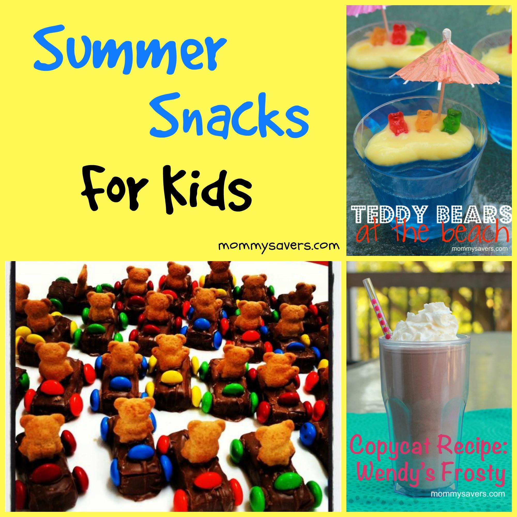 Summertime Snacks Recipe  Summer Snacks for Kids Mommysavers