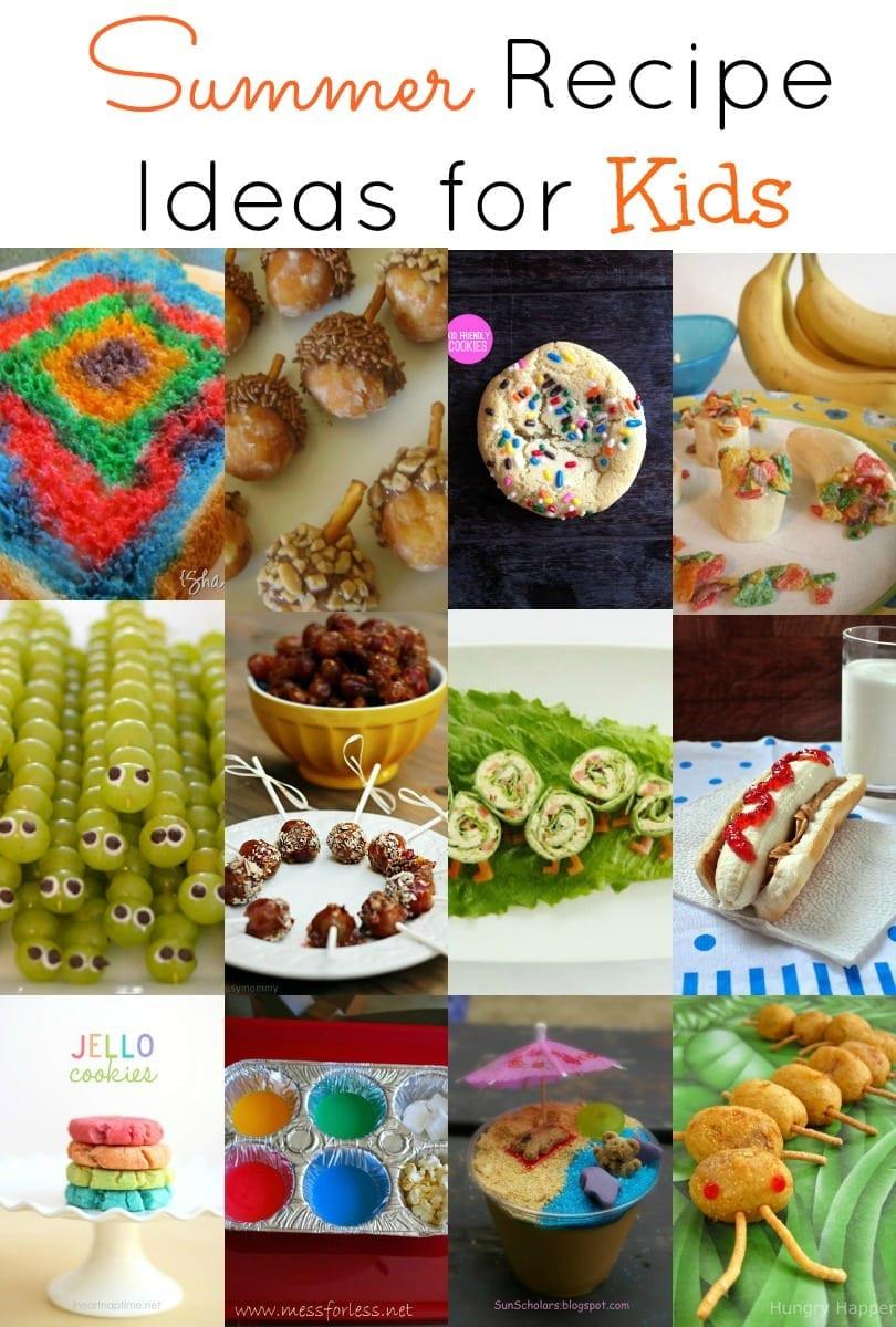 Summertime Snacks Recipe  Summer Recipe Ideas for Kids mom makes dinner