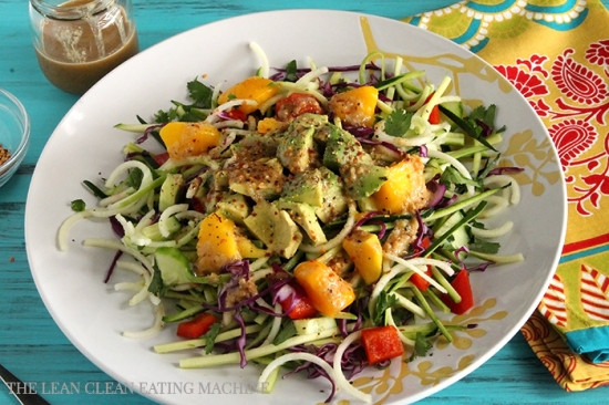 Summertime Vegetarian Recipes  Summer Glow Salad The Lean Clean Eating Machine