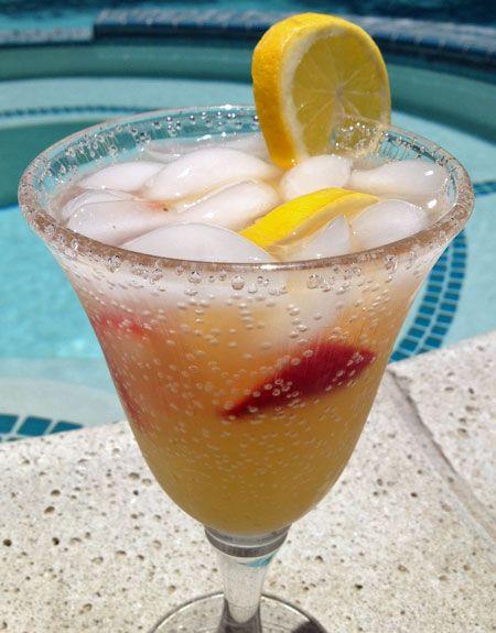 Summertime Vodka Drinks  This Summertime Vodka Lemonade Fizz is very refreshing and