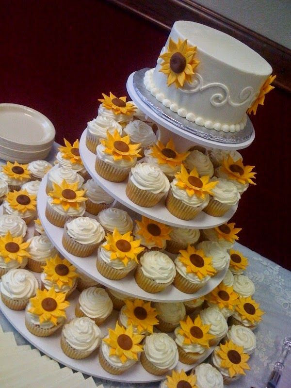 Sunflower Wedding Cakes  47 Sunflower Wedding Ideas For 2016