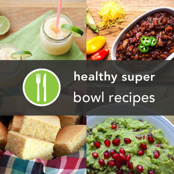 Super Bowl Recipes Healthy  15 Healthier Super Bowl Recipes from Around the Web
