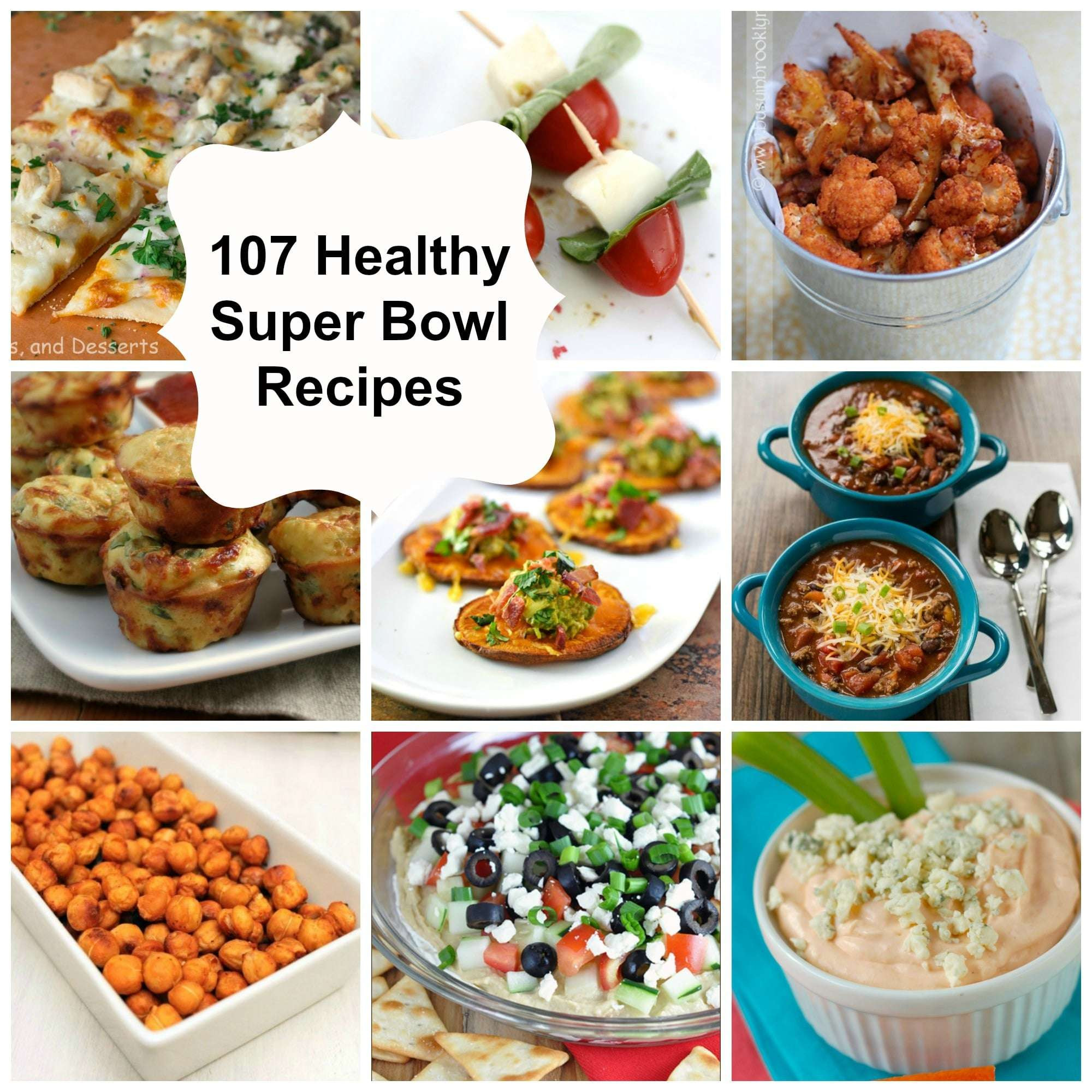 Super Bowl Recipes Healthy  107 Healthy Super Bowl Recipes A Cedar Spoon