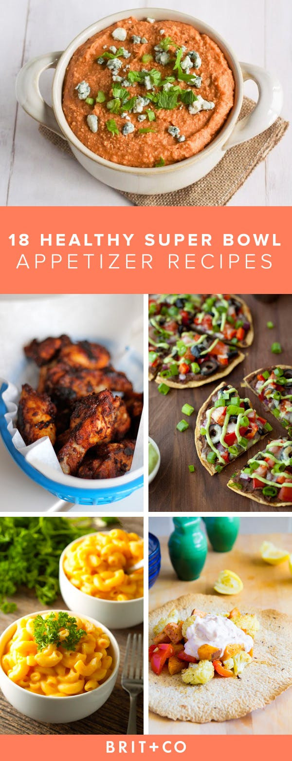 Super Bowl Recipes Healthy  18 Waistline Friendly Super Bowl Snacks