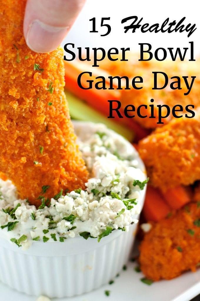 Super Bowl Recipes Healthy  15 Healthy Super Bowl Game Day Recipes 2teaspoons