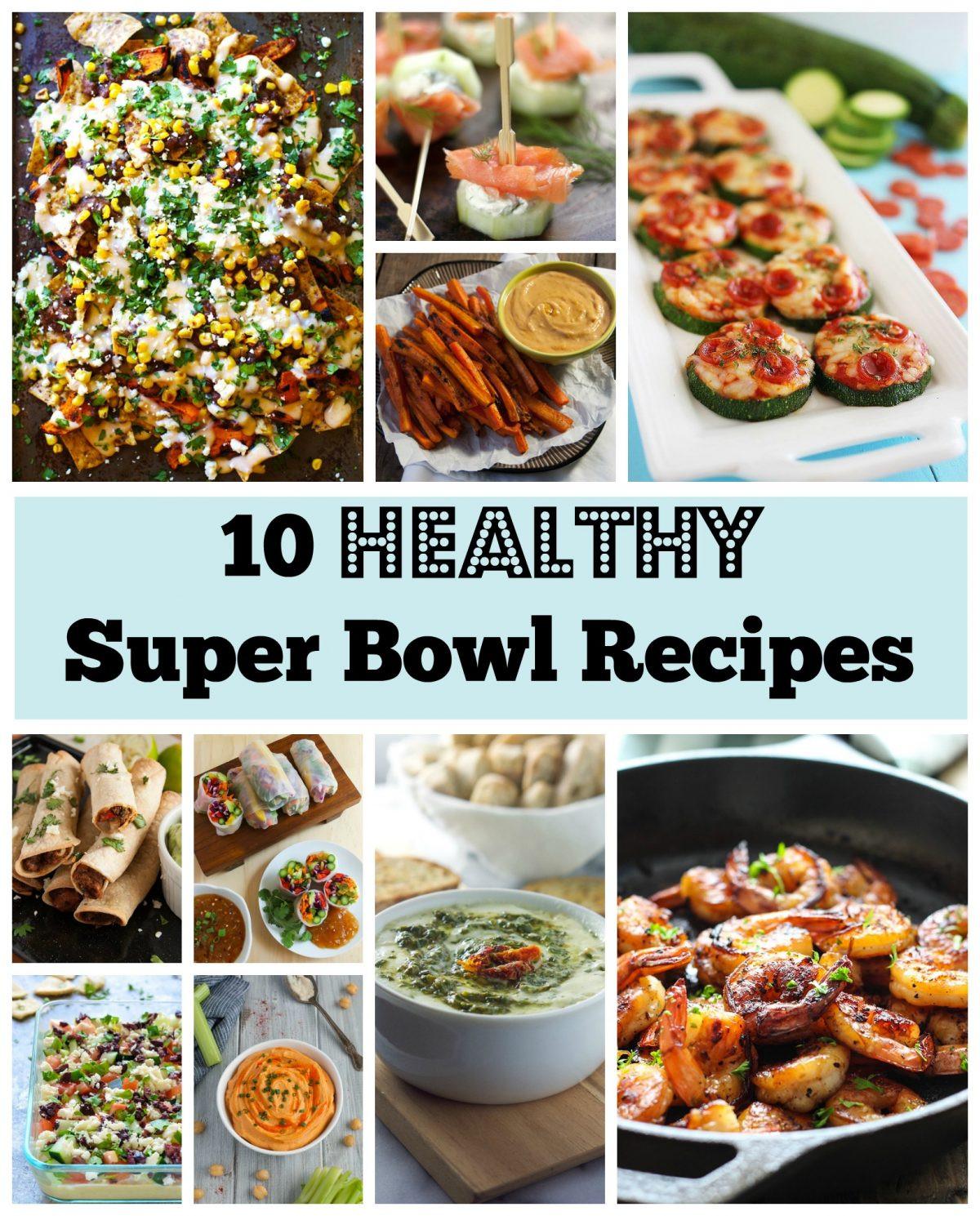 Super Bowl Recipes Healthy  Healthy Super Bowl Recipes Feasting not Fasting