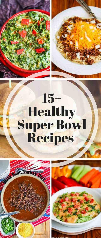 Super Bowl Recipes Healthy  Healthy Super Bowl Menu Jeanette s Healthy Living