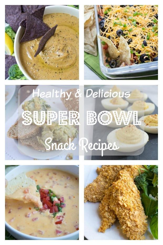 Super Bowl Recipes Healthy  Healthy Super Bowl Snack Recipes fANNEtastic food