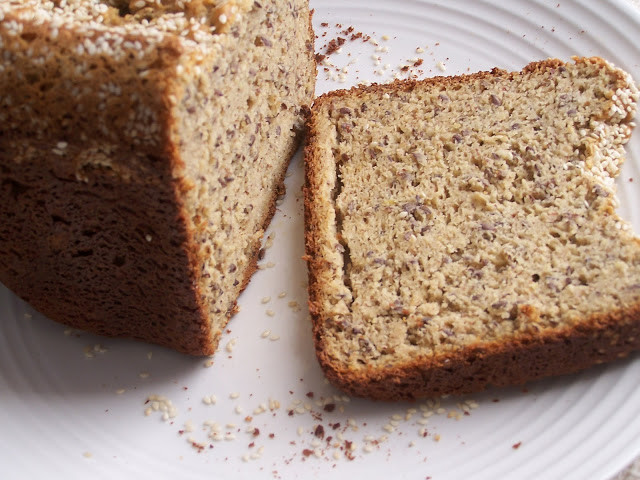 Super Healthy Bread Machine Recipes  Gluten Free High Protein Bread in the Bread Machine