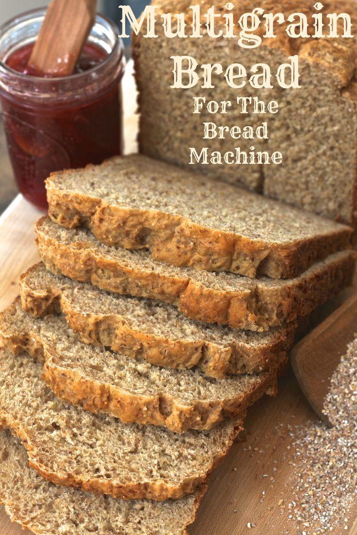 Super Healthy Bread Machine Recipes  100 Bread Machine Recipes on Pinterest