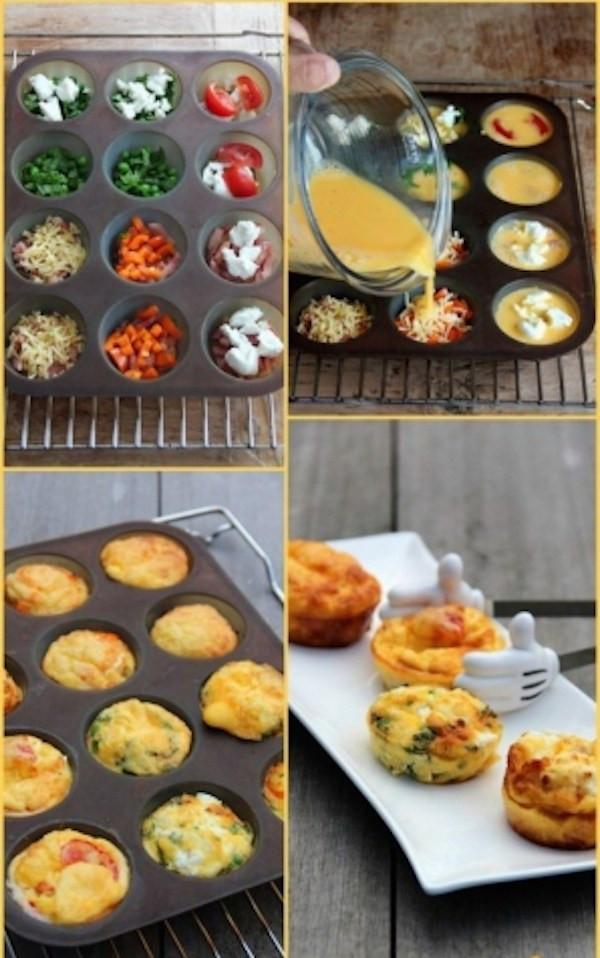 Super Healthy Breakfast  Easy Breezy Super Healthy Breakfast Egg Muffins