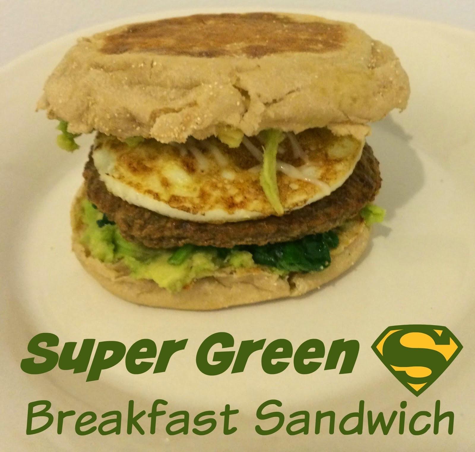 Super Healthy Breakfast  Super Green Super Healthy Breakfast Sandwich First Time
