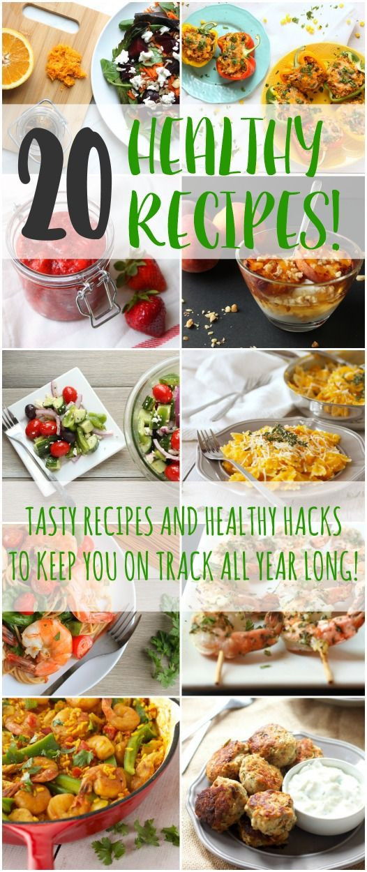Super Healthy Dinners  20 Healthy Recipes for the New Year