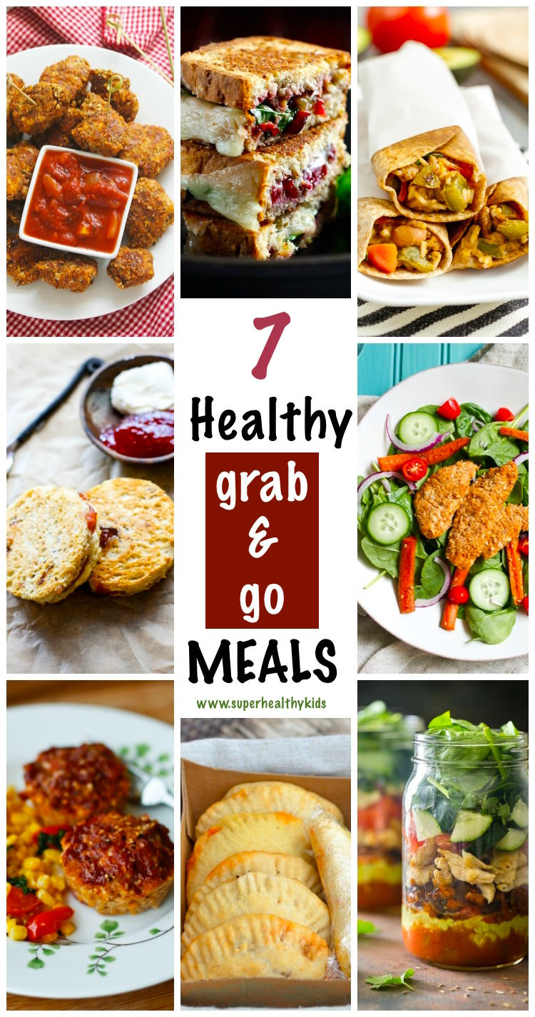 Super Healthy Dinners  7 Super Easy and Healthy Grab and Go Meals