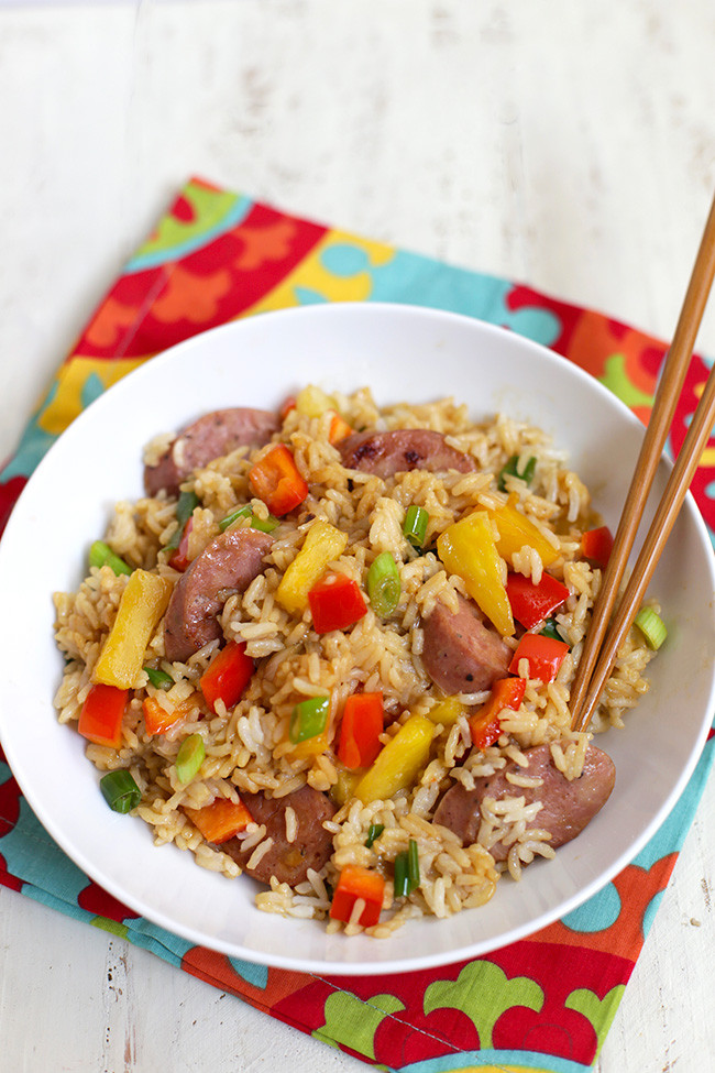Super Healthy Dinners  Pineapple Fried Rice