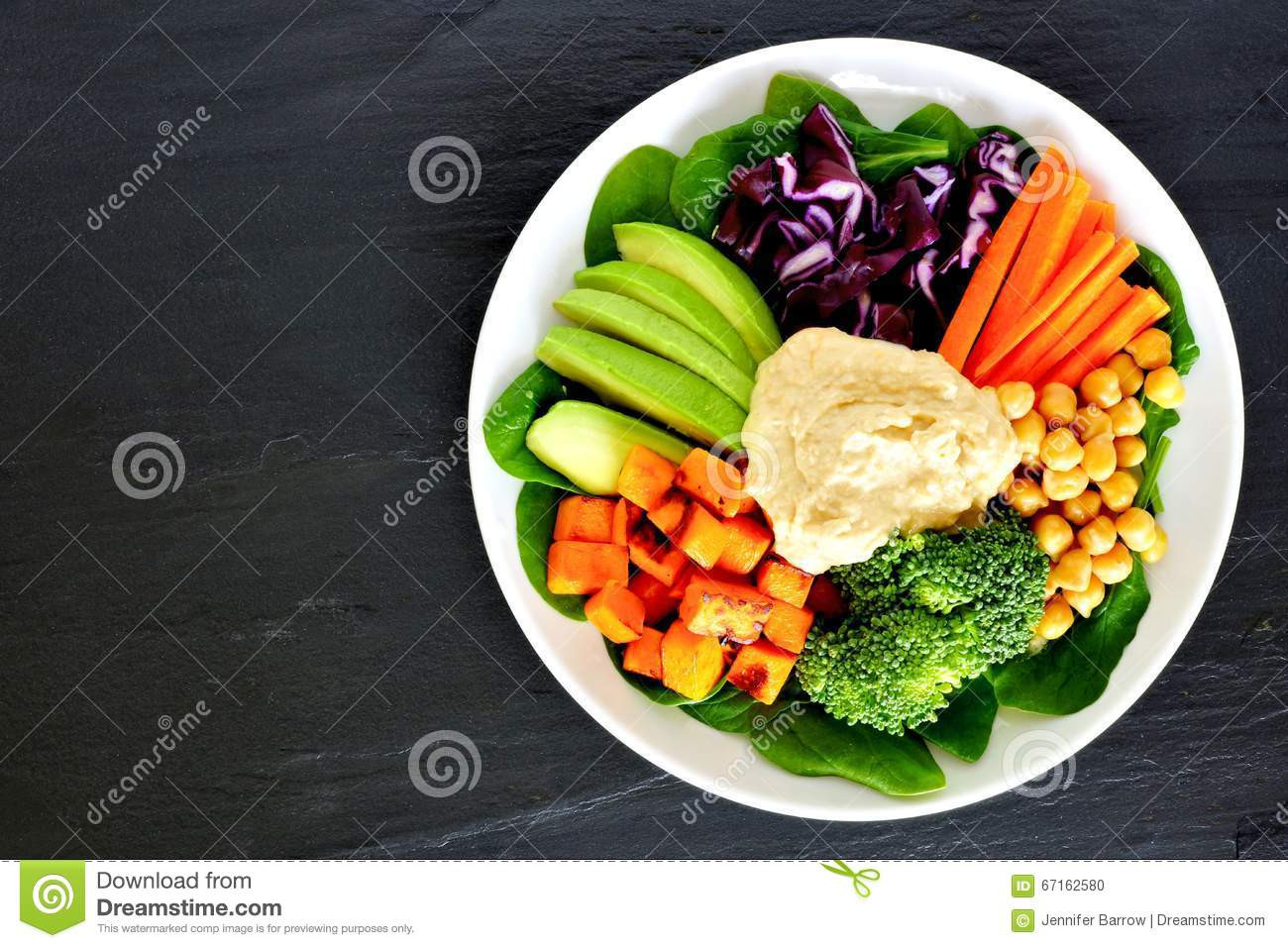 Super Healthy Lunches  Healthy Lunch Bowl With Super foods And Mixed Ve ables