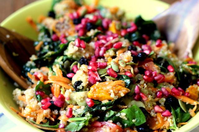 Super Healthy Salads  Superfood salad