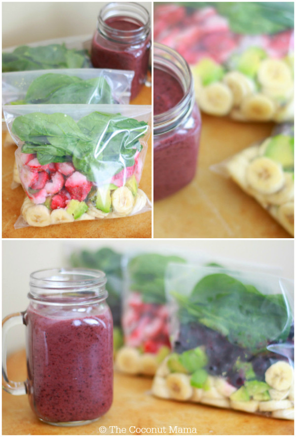 Super Healthy Smoothies Recipes  Smoothie Recipes 10 Super Healthy Freezer Pack Recipes