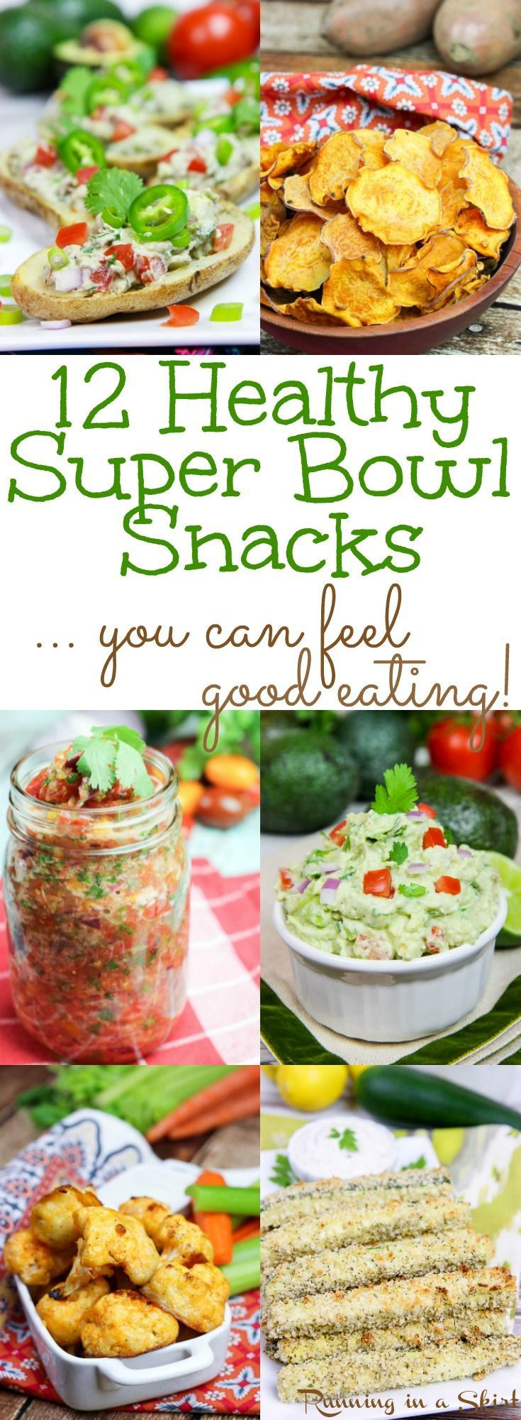 Super Healthy Vegetarian Recipes  12 Ve arian & Healthy Super Bowl Snacks