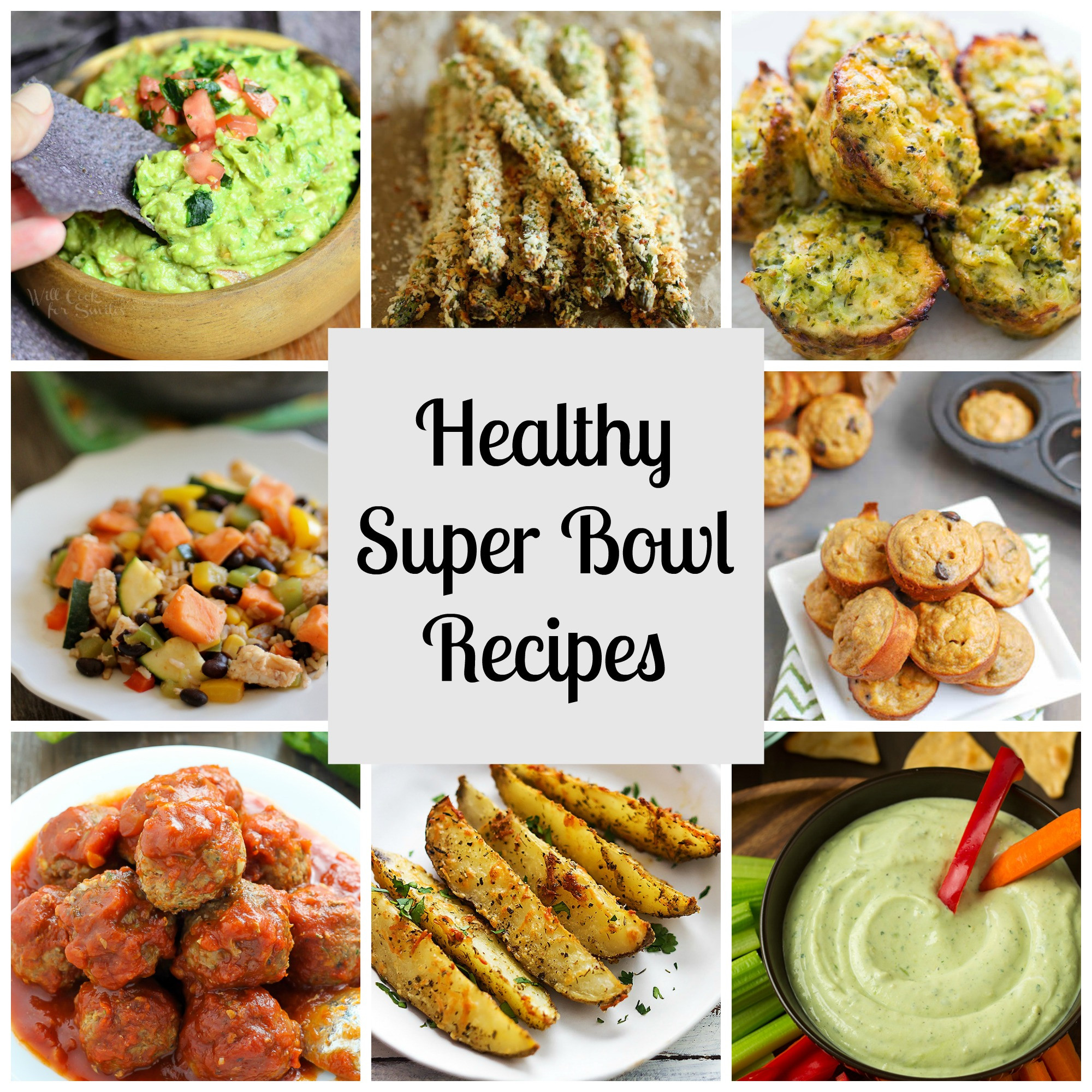 Super Healthy Vegetarian Recipes  Healthy Super Bowl Recipes RunEatSnap