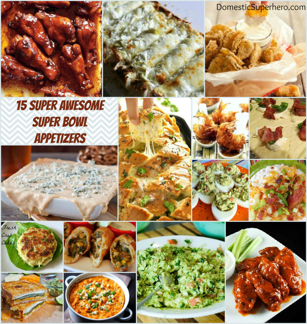 Superbowl Healthy Appetizers  super bowl appetizer recipes