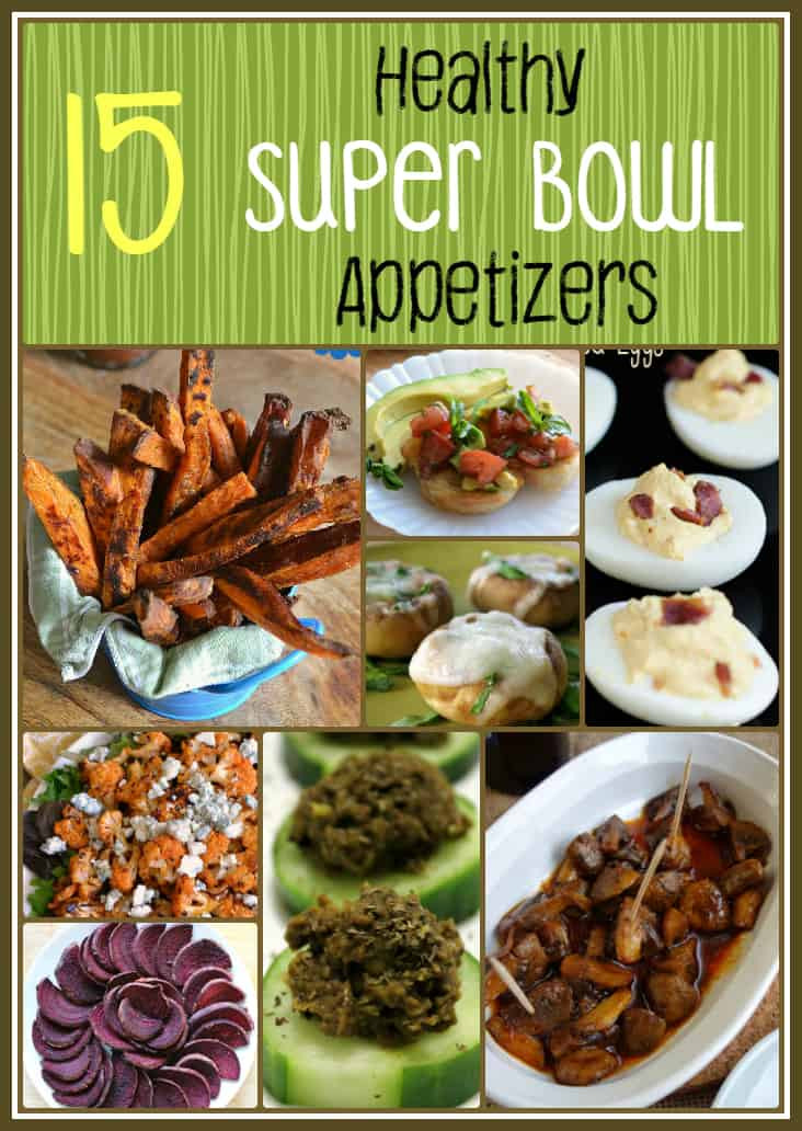 Superbowl Healthy Appetizers  15 Healthy Super Bowl Appetizers
