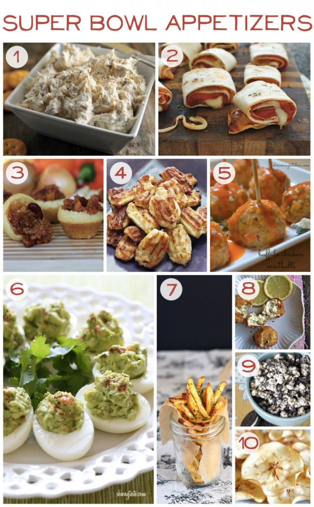 Superbowl Healthy Appetizers  154 best Super Bowl sports party images on Pinterest