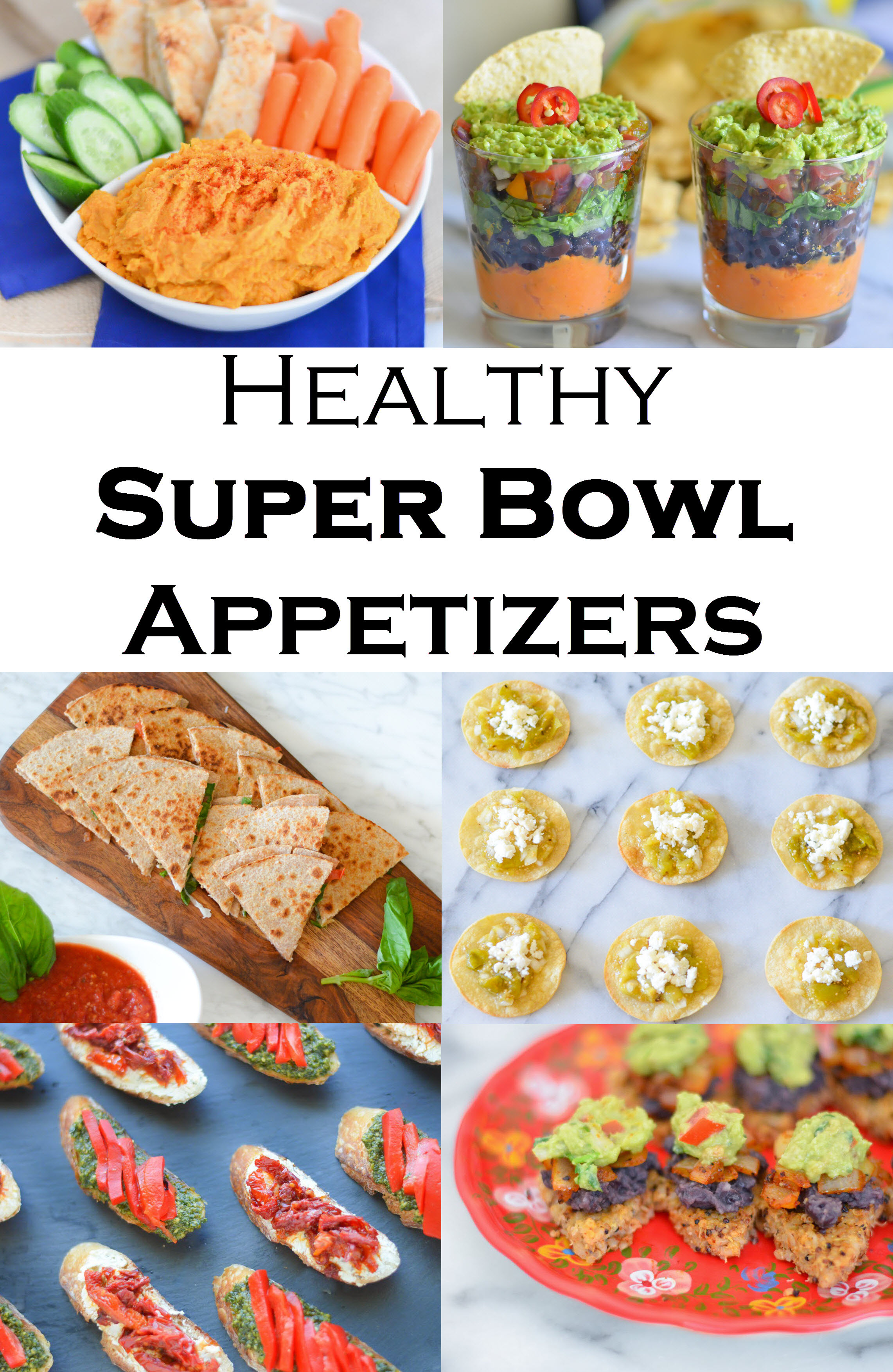 Superbowl Healthy Appetizers  Healthy Super Bowl Recipes For Everyone
