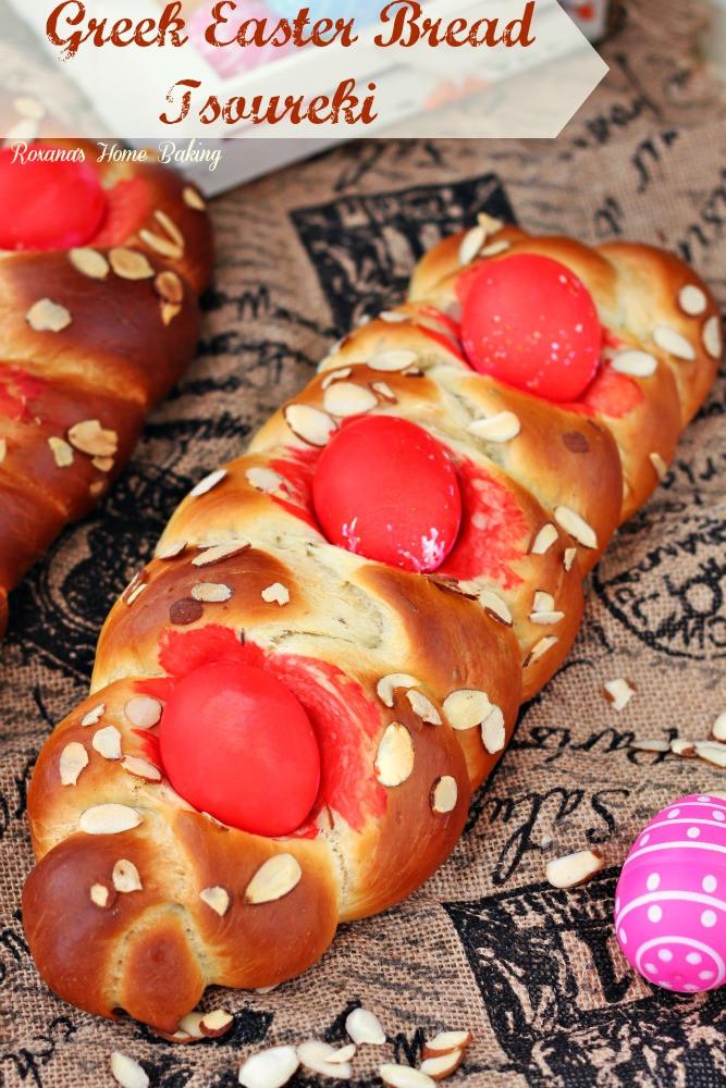 Sweet Easter Bread Recipe  Tsoureki Greek Easter bread recipe