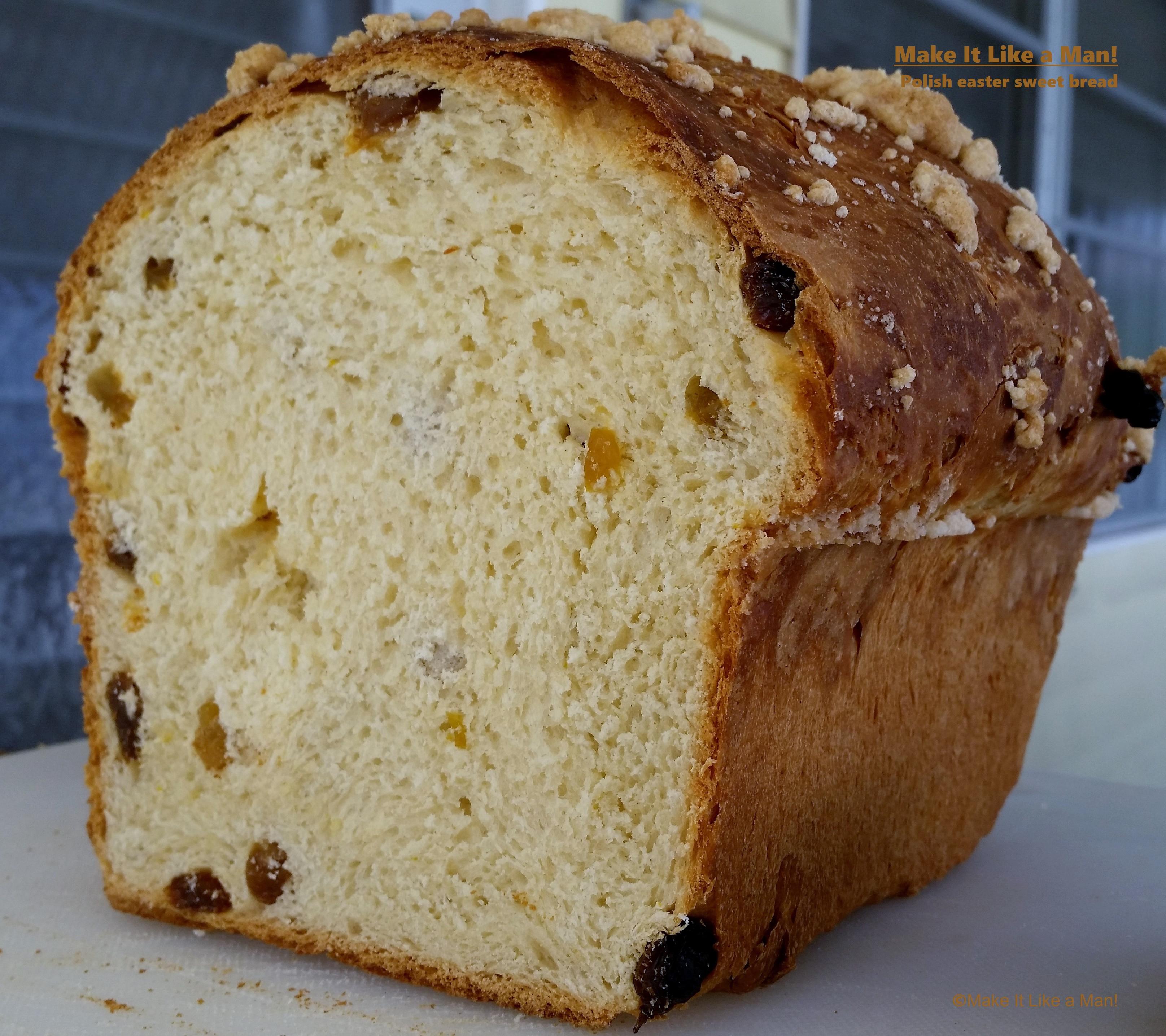Sweet Easter Bread Recipe  Polish Easter Sweet Bread Make It Like a Man