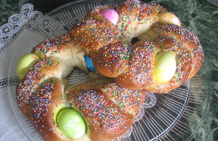 Sweet Italian Easter Bread  Italian Easter Sweet Bread