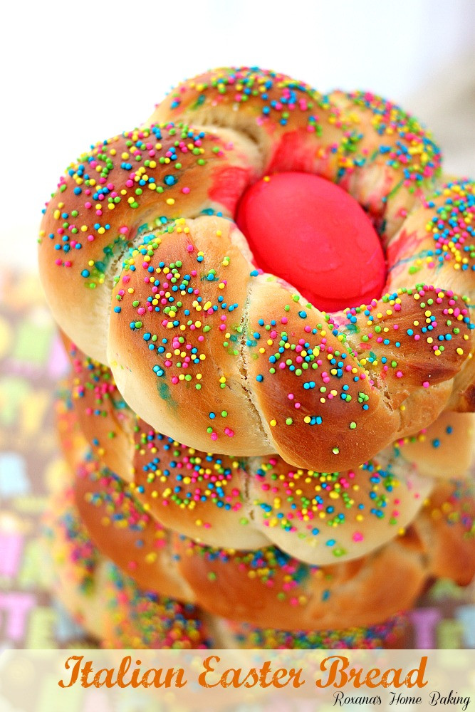Sweet Italian Easter Bread  Pane di Pasqua Italian Easter bread recipe
