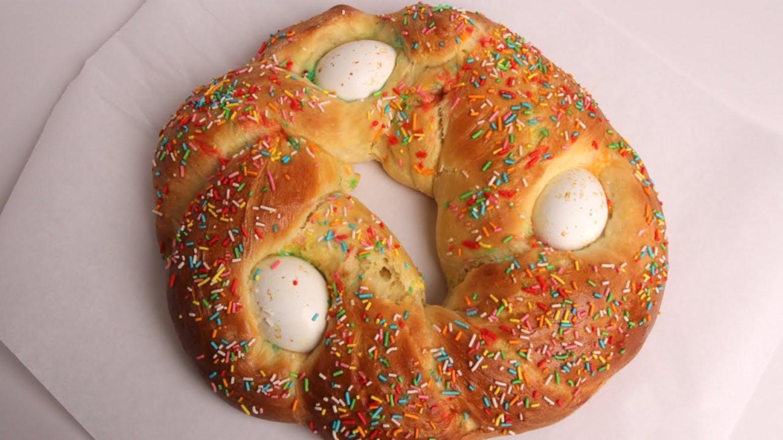 Sweet Italian Easter Bread  Sweet Italian Easter Bread Recipe
