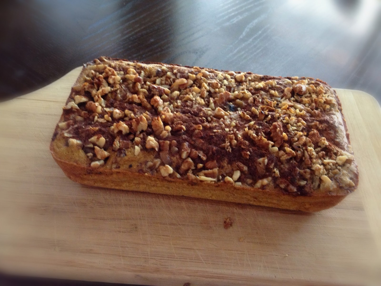 Sweet Potato Bread Healthy  Healthy With Lovelady Sweet Potato Bread With Walnut Crumble