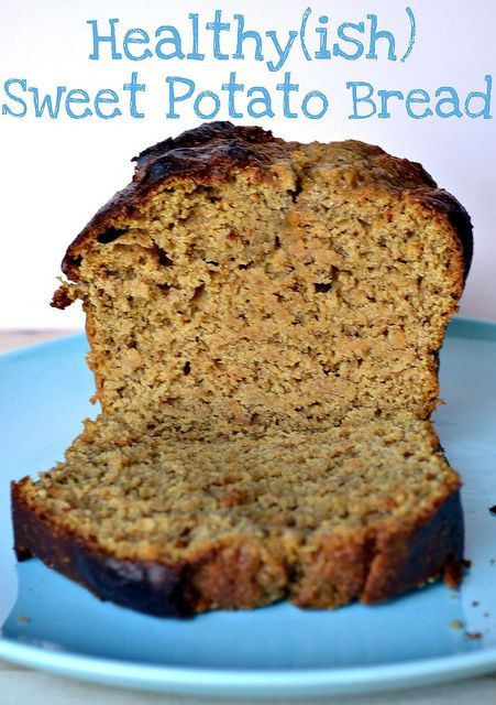 Sweet Potato Bread Healthy  17 Best images about Sweet potato on Pinterest