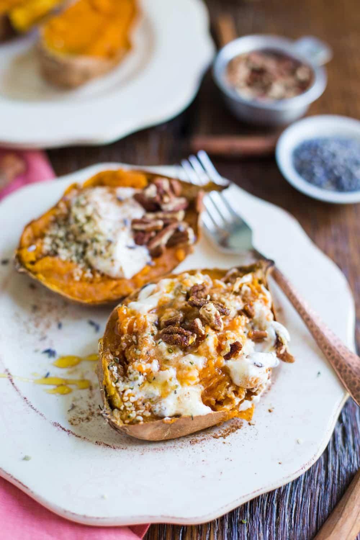 Sweet Potato For Breakfast Healthy  Breakfast Baked Sweet Potatoes